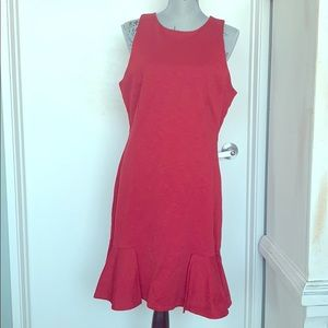 NWT red banana republic dress